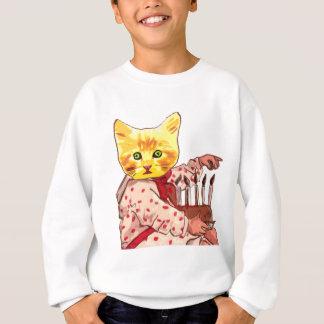 Katzen-Kerzen Sweatshirt