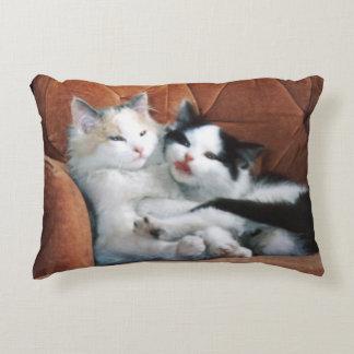 Katzen-Kissen Zierkissen