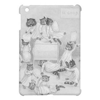Katzen-Kissenschlacht - lustiger Katzen-Fall durch Schutzhülle Fürs iPad Mini