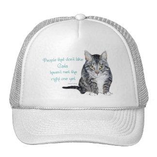 Katzen-Klugheit - Leute die nicht Katzen mögen Netzkappen