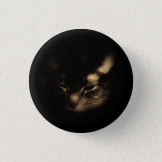Katzen-Knopf Runder Button 2,5 Cm
