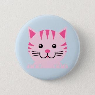Katzen-Knopf Runder Button 5,1 Cm