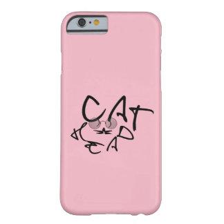 Katzen-Kopf Barely There iPhone 6 Hülle