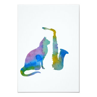 Katzen-Kunst Karte