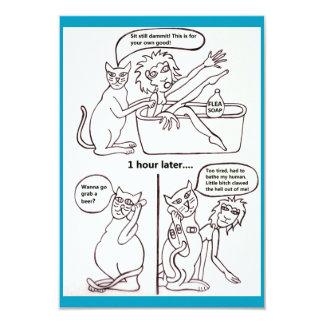 Katzen-Leben #1 Karte