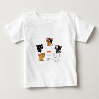 Katzen-Leckereien Baby T-shirt