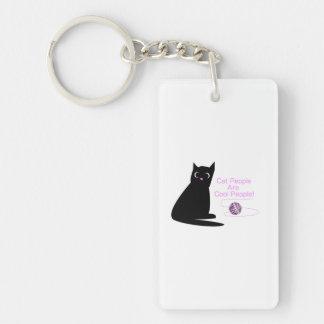 Katzen-Leute sind coole Leute Schlüsselanhänger