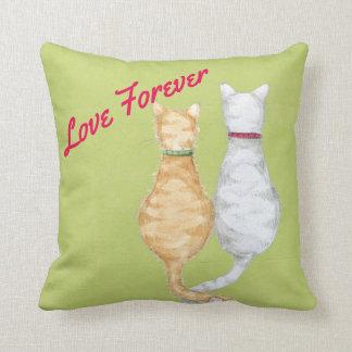 Katzen-Liebe Kissen