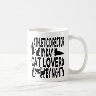 Katzen-Liebhaber-athletischer Direktor Kaffeetasse
