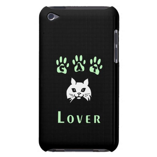 Katzen-Liebhaber Barely There iPod Etuis