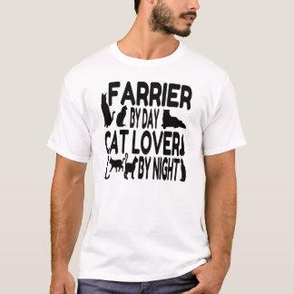 Katzen-Liebhaber-Hufschmied T-Shirt