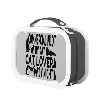 Katzen-Liebhaber-kommerzieller Pilot