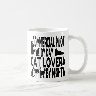 Katzen-Liebhaber-kommerzieller Pilot Kaffeetasse