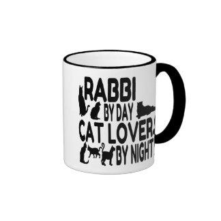 Katzen-Liebhaber-Rabbiner Kaffee Tasse