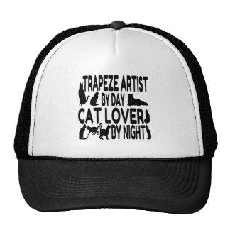 Katzen-Liebhaber-Trapezkünstler Netzkappe