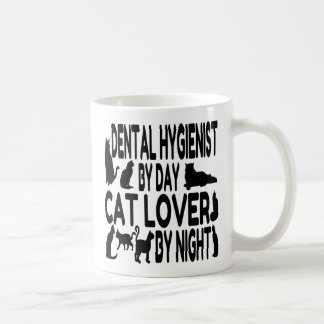 Katzen-Liebhaber-Zahnarzthelfer Kaffeetasse