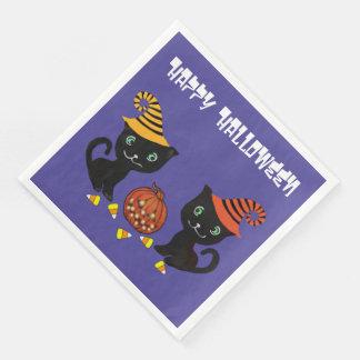 Katzen-Magie Papierservietten