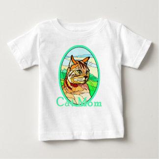 Katzen-Mamma-Buntglas 1 Baby T-shirt