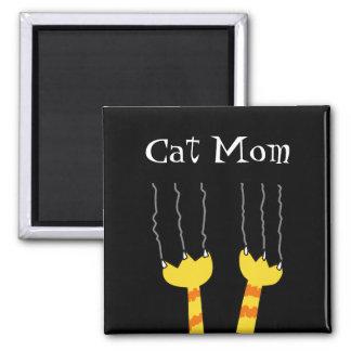 Katzen-Mamma-lustiger Katzenkratzer-wunderlicher M Magnets