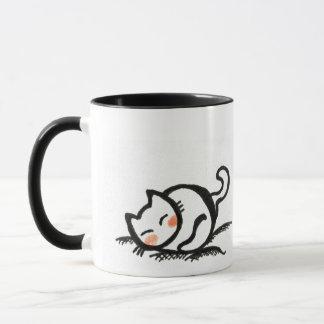 Katzen-Nickerchen. Tasse