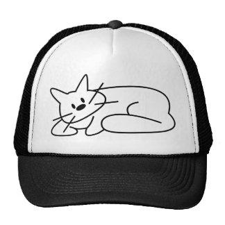 Katzen-Niederlegung Retrokappe