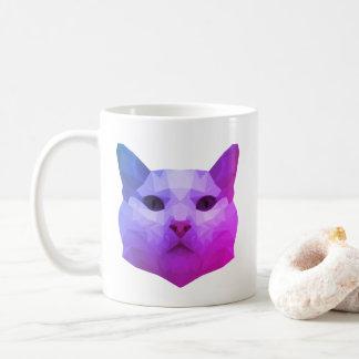 Katzen-niedrige PolyTasse Kaffeetasse