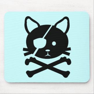 Katzen-Pirat Mousepad