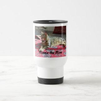 Katzen-Produkte: Minnie der Minx Reisebecher