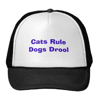 Katzen-Regel-Hundegeifer-Hut Kult Mützen