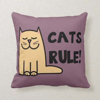 Katzen-Regel Kissen