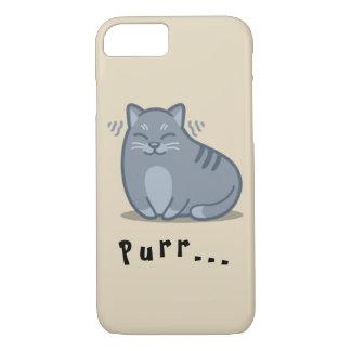Katzen-Schnurren-Telefon-Kasten iPhone 8/7 Hülle