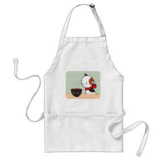 Katzen-Schürze-Suppen-Schürze-Katzen-Liebhaber, Schürze