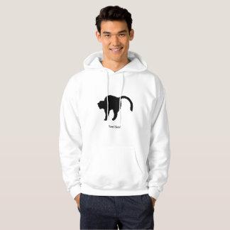 Katzen-Silhouette Hoodie
