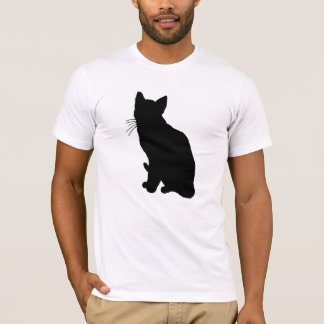 Katzen-Silhouette T-Shirt
