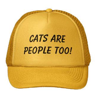 Katzen sind Leute auch! Baseball Cap