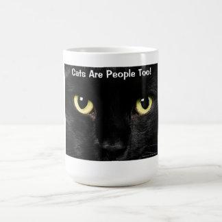 Katzen sind Leute auch Kaffeetasse