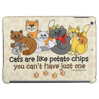Katzen sind wie Kartoffelchips