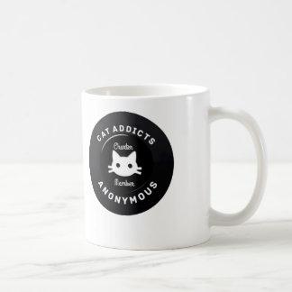 Katzen-Süchtige anonym Kaffeetasse