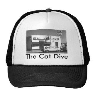 Katzen-Tauchen-Hut Retrokult Cap