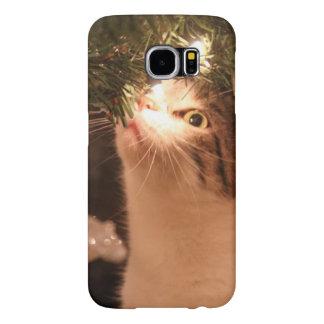 Katzen und Lichter - Weihnachtskatze -