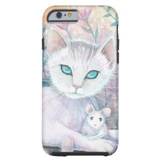 Katzen-und Mäusephantasie-Kunst durch Molly Tough iPhone 6 Hülle