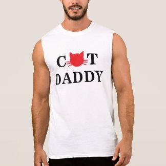 Katzen-Vati-lustiger T - Shirt