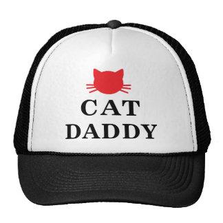 Katzen-Vatikappe Fernlastfahrer-Hut Netzcap