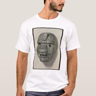 Katzenartige Maske eines Mannes, von Oaxaca, T-Shirt