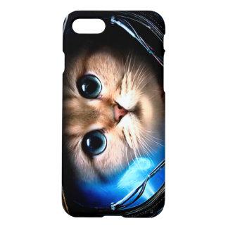 Katzenastronaut iPhone 7 Hülle