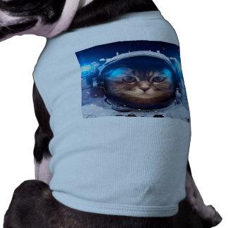 Katzenastronaut - Katzen im Raum - Katzenraum T-Shirt