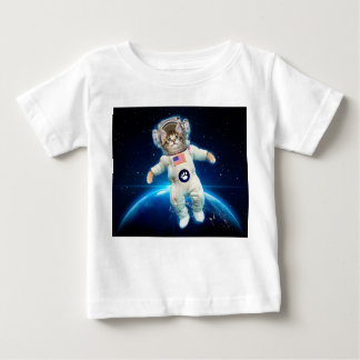 Katzenastronaut - Raumkatze - Katzenliebhaber Baby T-shirt