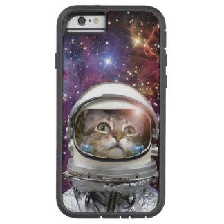 Katzenastronaut - verrückte Katze - Katze Tough Xtreme iPhone 6 Hülle