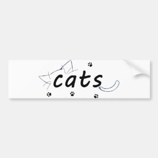 Katzenaufkleber Autoaufkleber