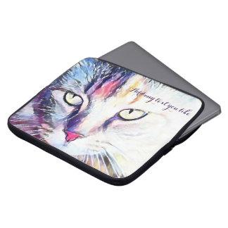 Katzenaugen-Laptophülse Laptopschutzhülle